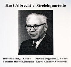 Albrecht: String Quartets Nos. 2 and 3