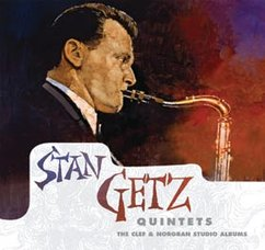 Stan Getz Quintets: The Clef & Norgan Studio Albums