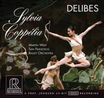 Delibes: Sylvia and Coppelia Suites
