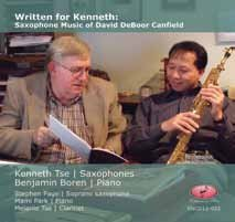 Canfield: Saxophone Sonatas