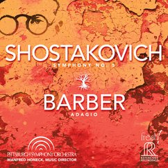 Shostakovich: Symphony No. 5; Barber: Adagio for Strings