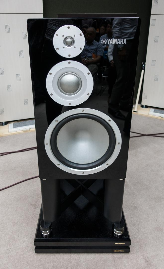 The brand-new Yamaha NS-5000 speaker.