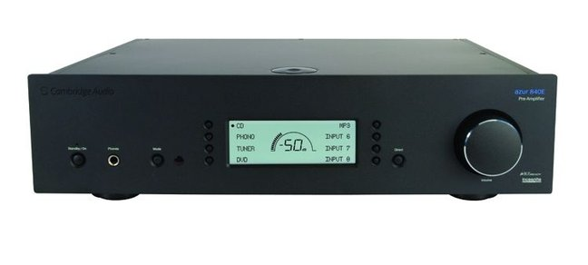 TESTED: Cambridge Azur 840E Preamplifier and 840W Power Amplifier