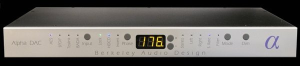 Berkeley Audio Alpha DAC Series 2 (TAS)