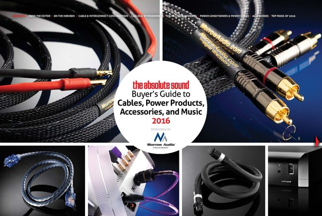 Download the New TAS Buyer's Guide to Cables, Power Products, Accessories, and Music 2016