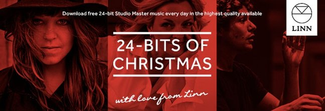 24 bits of Christmas, with love from Linn
