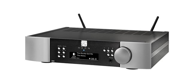 Moon 390 network player/preamplifier