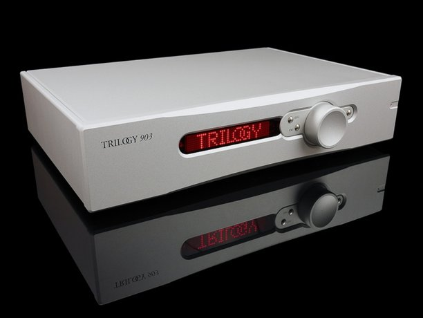 Trilogy Audio 903 preamp and 993 power amp