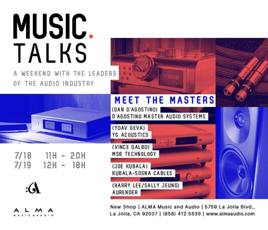 Alma Music and Audio Hosts Special Open House