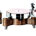 Acoustic Solid Wood Round MPX turntable