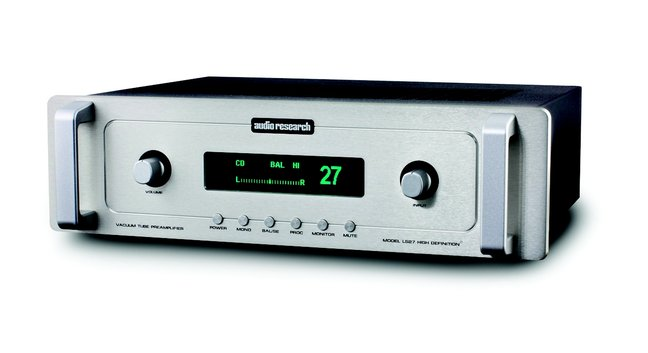 Audio Research LS27 Preamplifier/Reference 75 Power Amplifier (Hi-Fi+)