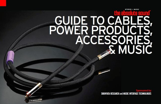 The Absolute Sound Guide to Cables, Power Products, Accessories, and Music 2012 Released For Download