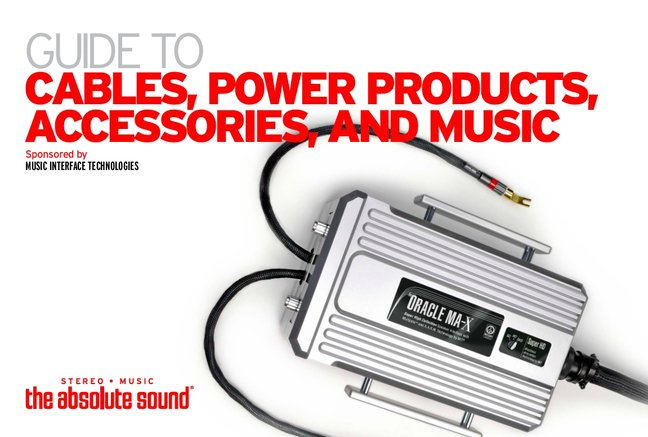 The Absolute Sound Guide to Cables, Power Products, Accessories, and Music: Now Available for Free Download