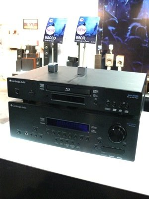 CEDIA Discoveries—Cambridge Audio Announces Blu-ray/Universal Player & more