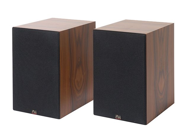 AVI DM10 active standmount loudspeaker and Subwoofer