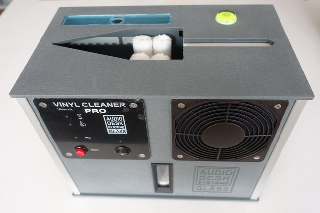 New PRO Record Cleaner from Audiodesksysteme Gläss