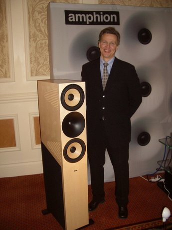 CES Day 1: Two Great Loudspeakers