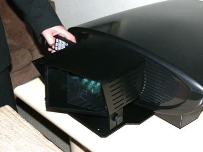 CES 2009: Dream Vision Dream'E projector with elegant Cinemascope option