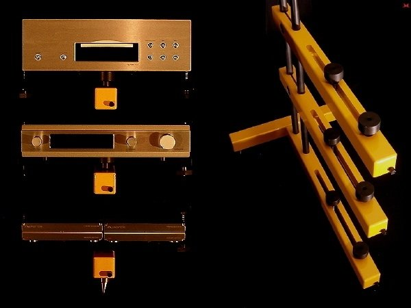 Dynamic Contrasts' RTS Audio Rack Takes Vibration Control To Extremes