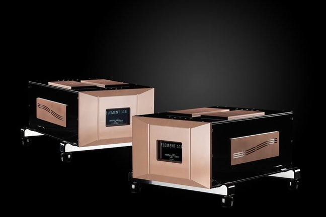 Merrill Audio Element 118 mono power amplifiers