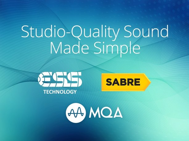 SABRE DACs from ESS Technology to Integrate MQA Rendering