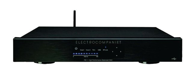 Electrocompaniet PD-1 USB DAC and ECI 3 Integrated Amplifier (TAS 221)