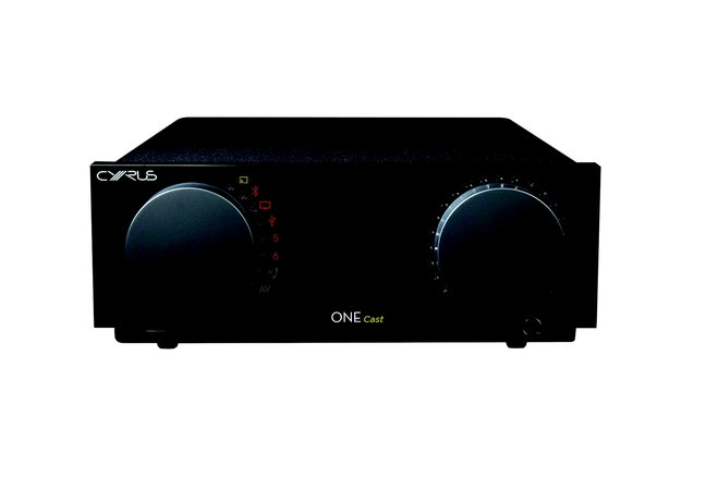 Cyrus One Cast Integrated streaming amplifier