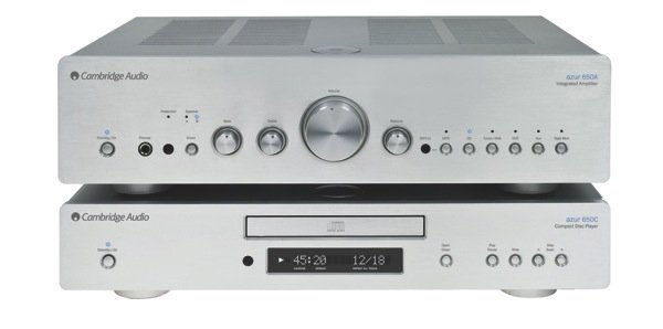 Cambridge Audio Azur 650 Series CD Player & Integrated Amp (HiFi-Plus 68)