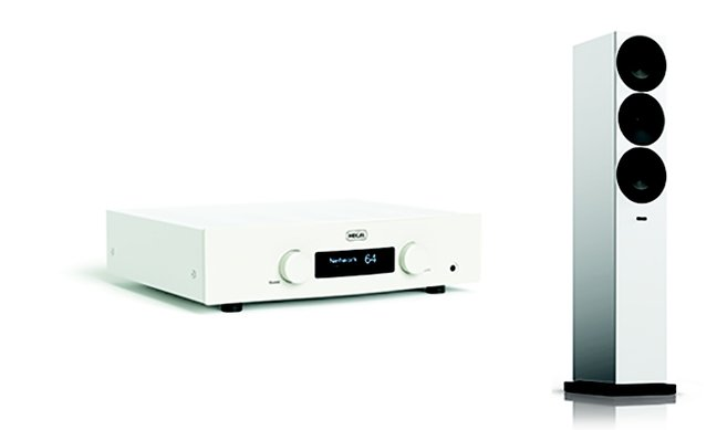 Hegel H190 integrated amplifier and Amphion Argon 7LS floorstanding loudspeakers