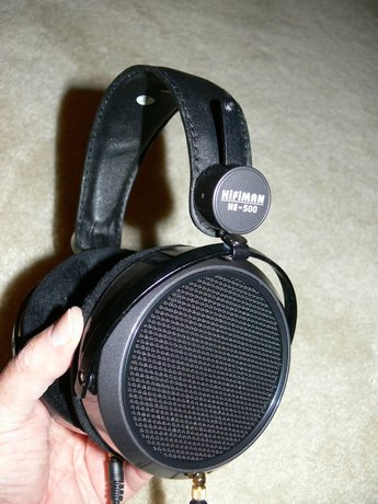 First Listen: HiFiMAN HE-500 Planar Magnetic Headphones