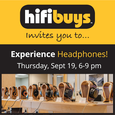 HiFi Buys Event on September 19
