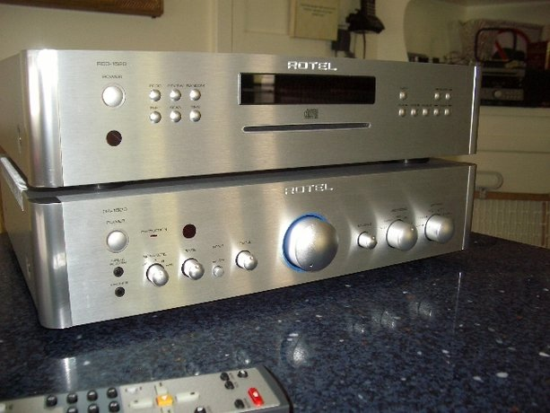 Sexy and Serious, Rotel's New 15 Series Integrated Amp and CD Player