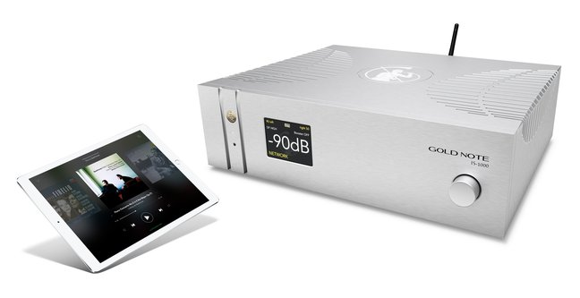 Gold Note IS-1000: a fully integrated amplifier with built-in Streamer, Phono Stage & DAC