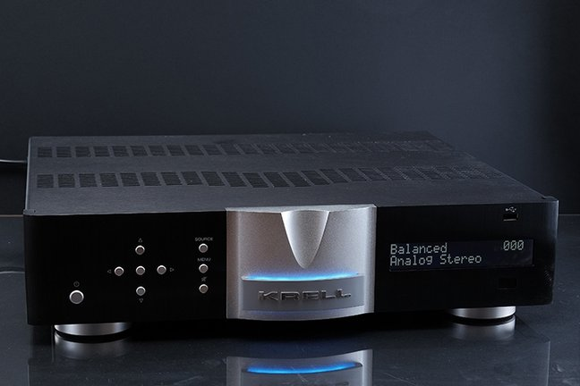 Krell Vanguard integrated amplifier