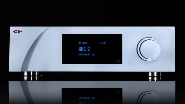 CH Precision L1 Dual-Mono Line Preamplifier and X1 Power Supply