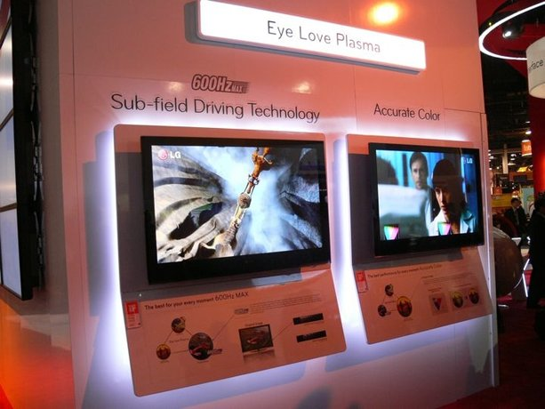 "CES 2009: Despite LCD ""Buzz,"" Plasma TVs Could Be Your Best Choice"
