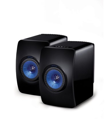 KEF LS50 Wireless standmount loudspeakers