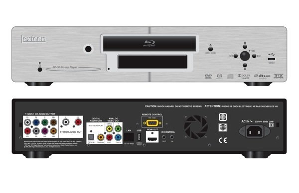 First Listen: Lexicon BD-30 universal Blu-ray player