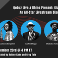 Qobuz Live & Rhino Present: 'John Coltrane - Giant Steps 60': An All-Star Livestream Discussion