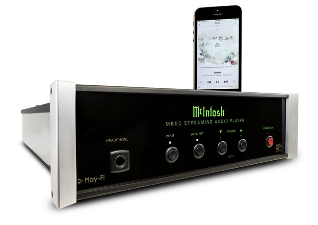 McIntosh Labs MB50 streaming audio player