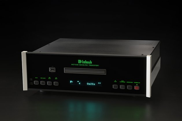 McIntosh Announces MCT500 SACD/CD Transport