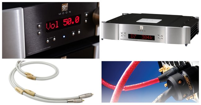 Wired to the MOON? Moon 780D v2, Moon 700i v2 + Nordost