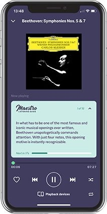 Primephonic launches dedicated classical listening guide Maestro