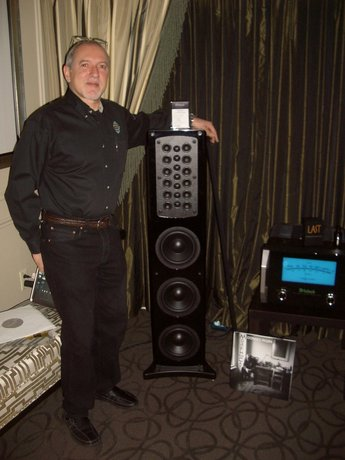 CES Day 4: Product Debut, McIntosh's  Spectacular XR200 Tower