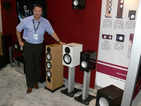 NEWS: CEDIA Discoveries—Monitor Audio's Silver RX-Series Loudspeakers