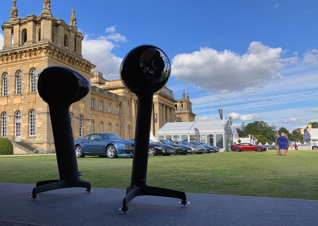 THE FINEST AUDIO JOINS THE FINEST CARS AS NODE RETURN TO BLENHEIM PALACE FOR SALON PRIVÉ 2020
