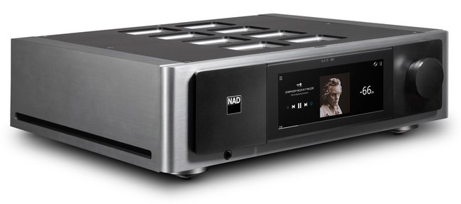 NAD Now Shipping Masters M33 BluOS Streaming DAC Amplifiers