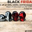 Noble Audio announces 72-hour Black Friday pricing on IEMs & CIEMs