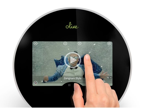 Olive Announces World's First All-in-One Home Music Player