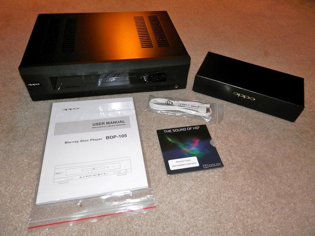 First Look: Oppo BDP-105 Universal/Blu-ray Player & DAC (Hi-Fi+)